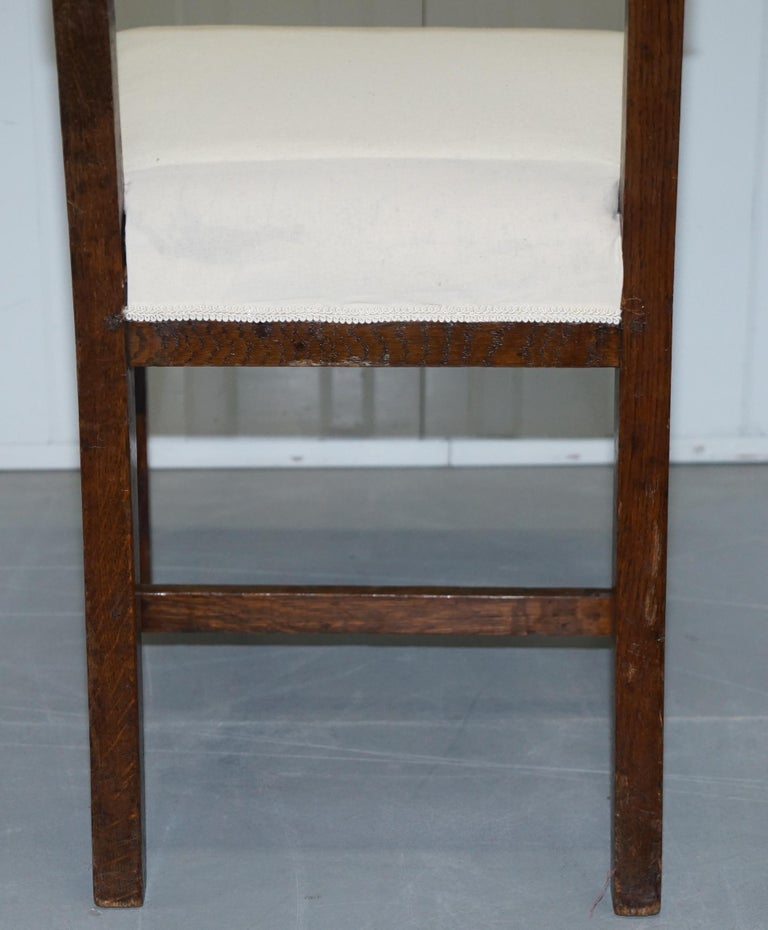 Set 12 Original Royal Air Ministry Stamped Dining Chairs ...