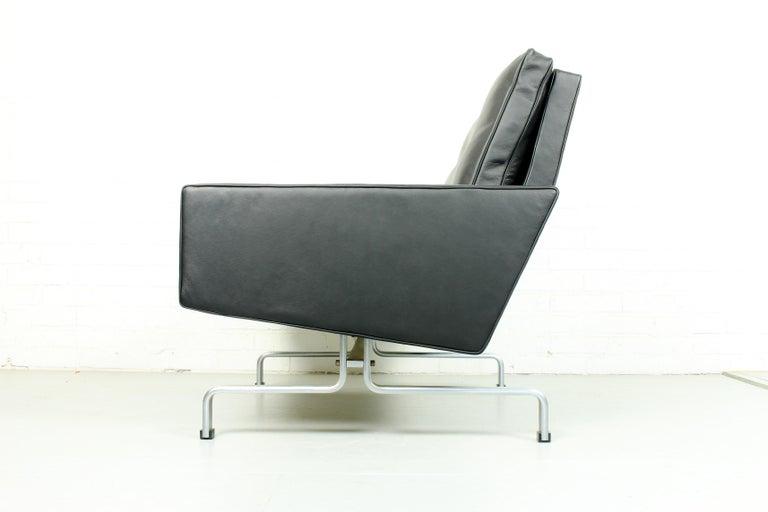 20th Century Set 2 Vintage PK31/1 Lounge Chair & PK61 Coffee Table by Poul Kjaerholm for E. K For Sale