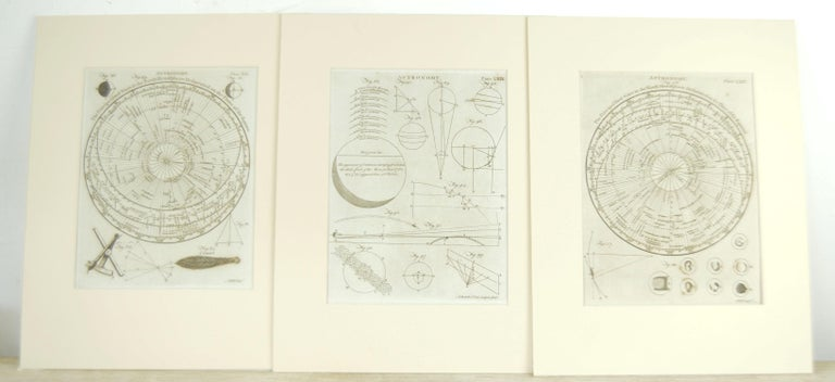 Georgian Set 24 18th Century Astronomy Prints by A.Bell For Sale