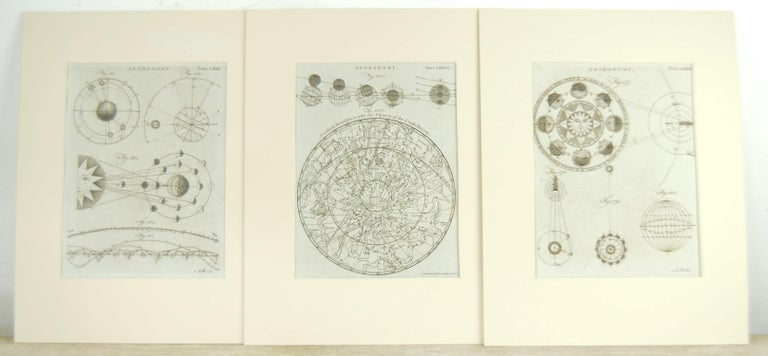 English Set 24 18th Century Astronomy Prints by A.Bell For Sale