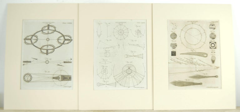Other Set 24 18th Century Astronomy Prints by A.Bell For Sale