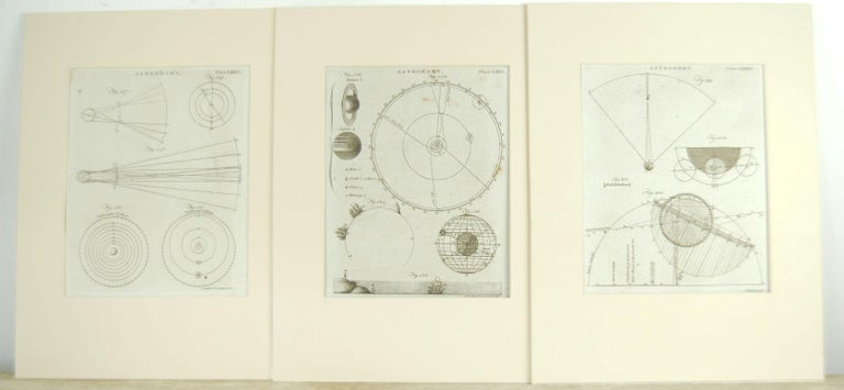 Set 24 18th Century Astronomy Prints by A.Bell In Good Condition For Sale In St Annes, Lancashire