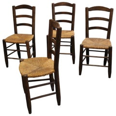 Set 4 Chairs, French Modernism