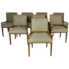 Set of 8 Midcentury Dining Chairs