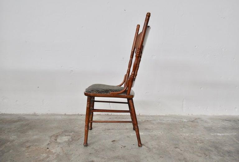 Austrian Set of Ashwood Chairs, Austria, 1920s For Sale