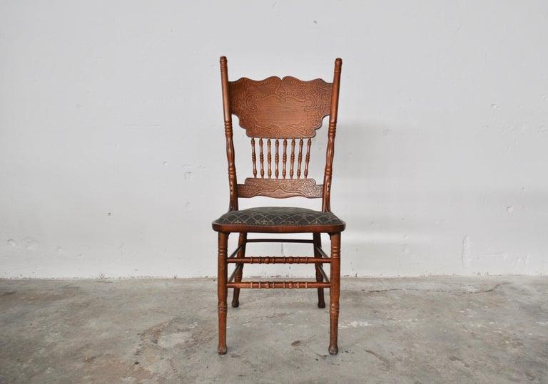 Set of Ashwood Chairs, Austria, 1920s In Good Condition For Sale In Manzano, Friuli Venezia Giulia