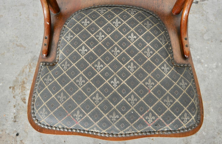 Set of Ashwood Chairs, Austria, 1920s For Sale 1