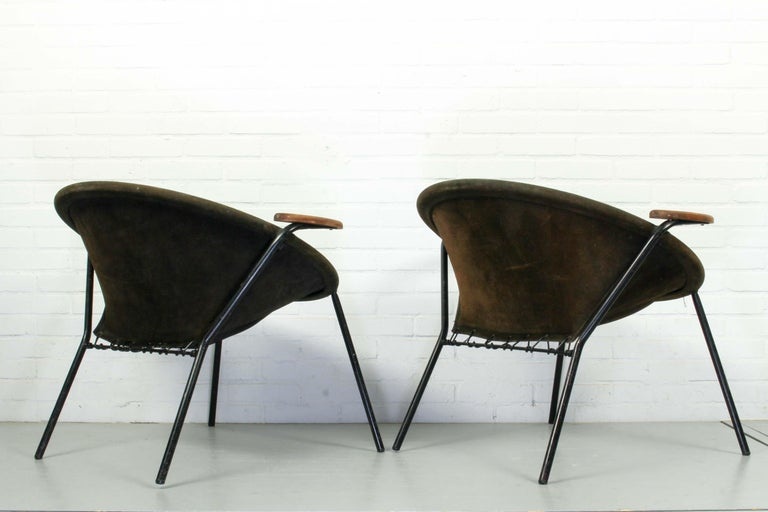 Danish Set Balloon Chairs by Hans Olsen for Lea Design, 1960s For Sale