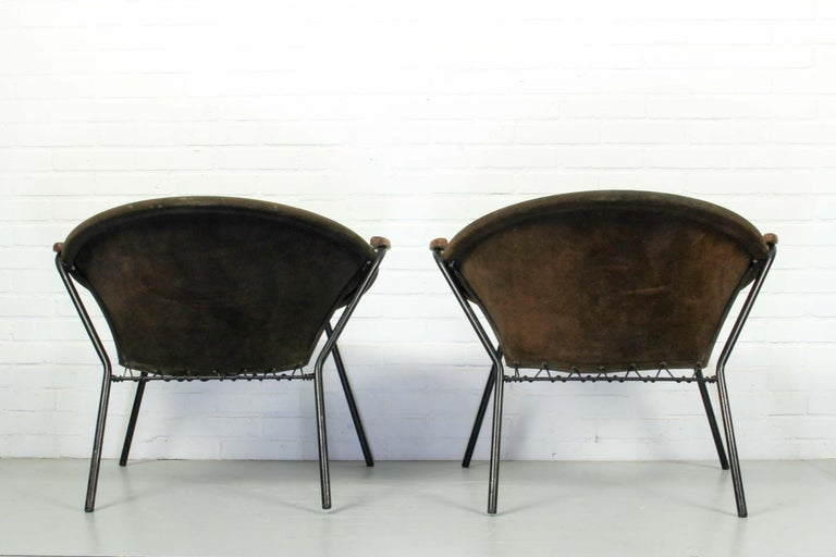 20th Century Set Balloon Chairs by Hans Olsen for Lea Design, 1960s For Sale