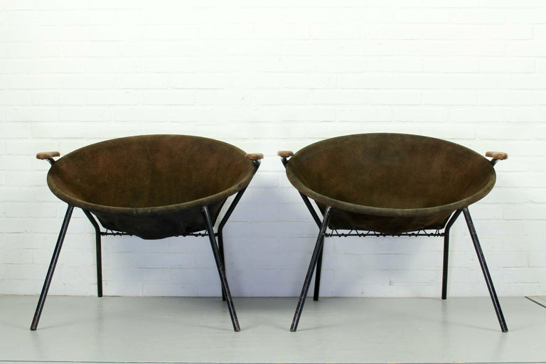 Set Balloon Chairs by Hans Olsen for Lea Design, 1960s For Sale 1