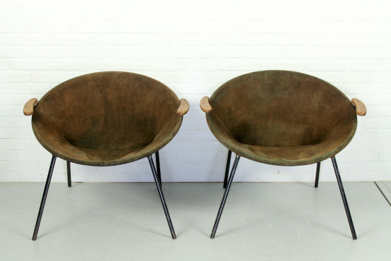 Set Balloon Chairs by Hans Olsen for Lea Design, 1960s For Sale 2