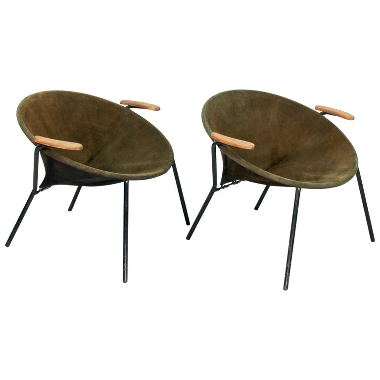 Set Balloon Chairs by Hans Olsen for Lea Design, 1960s For Sale