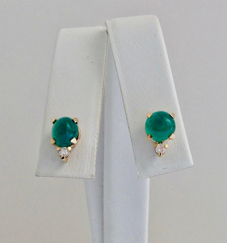 Suite Colombian Emerald Diamond Necklace and Earrings 16.7 Carat For Sale 2
