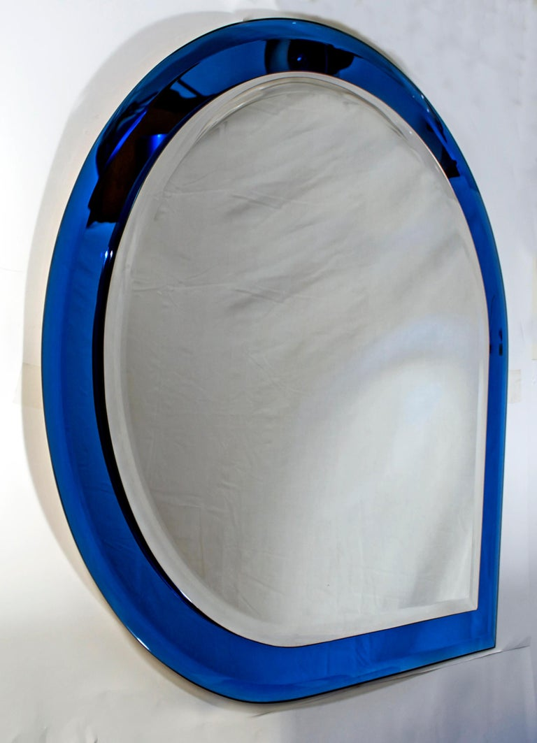 Italian Fontana Arte Mid-Century Modern Bathroom Set with Mirror and Lights, 1960s For Sale