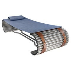 Set DS-1000 Semi-Outdoor Lounge Chair with Cushion by De Sede