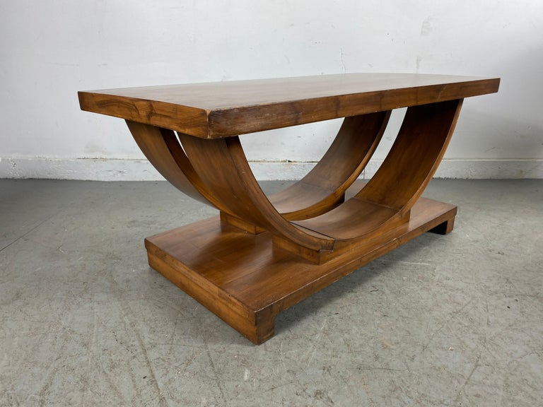 Set of Four Classic Art Deco Tables by Brown Saltman, Coffee, Ends, Lamp Table For Sale 7