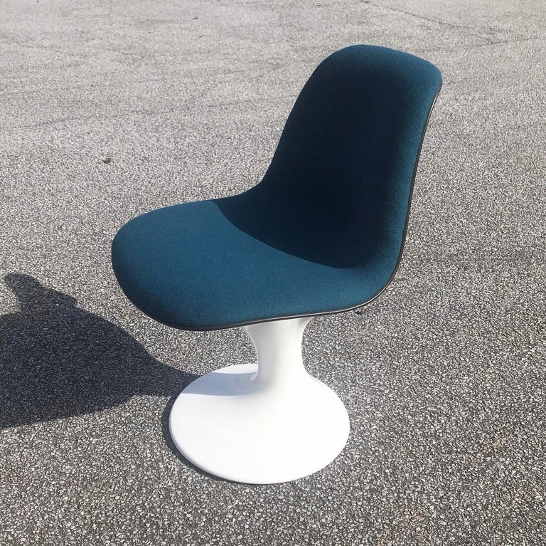 Set of Four Orbit Dining Chairs by Farner and Grunder for Herman Miller, 1960s In Excellent Condition For Sale In Haderslev, DK