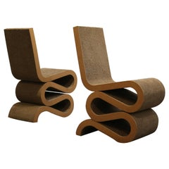 Set Frank Gehry Chairs