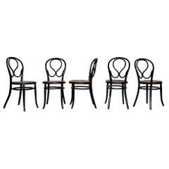 Set of Gebruder Thonet Chairs, Austria, 1930s