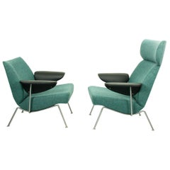 Set of Midcentury Lounge Chairs by Theo Ruth for Wagemans & van Tuinen