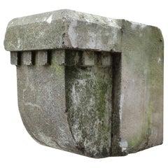 Set of 10 Antique Limestone Corbels