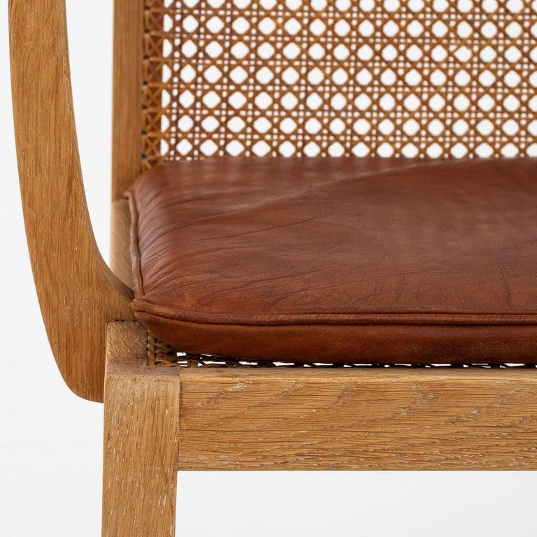 Set of 10 Armchairs by Ditte Heath In Good Condition In Copenhagen, DK