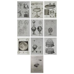 Set of 10 Astronomy Prints by A.Bell, 18th Century