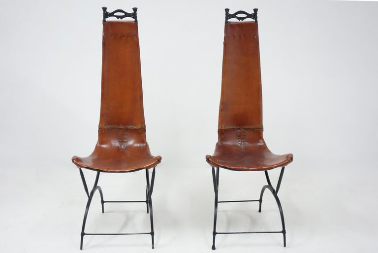 Set of 10 Chairs by François & Sido Thevenin In Good Condition For Sale In Paris, FR