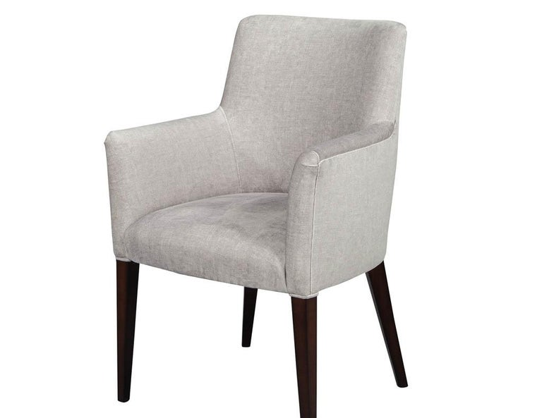 Set of 10 Custom Relari Modern Dining Chairs For Sale 4