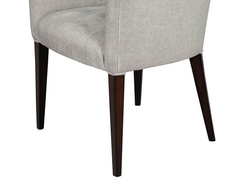 Set of 10 Custom Relari Modern Dining Chairs For Sale 5