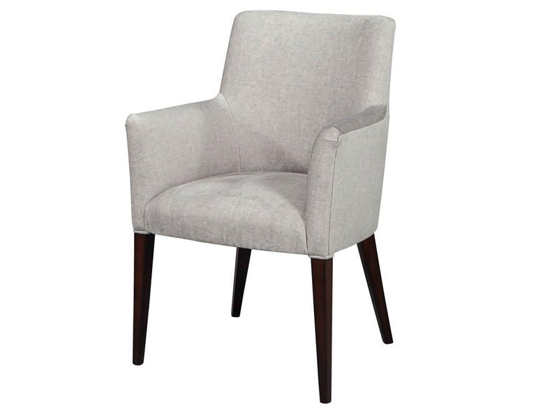 Canadian Set of 10 Custom Relari Modern Dining Chairs For Sale