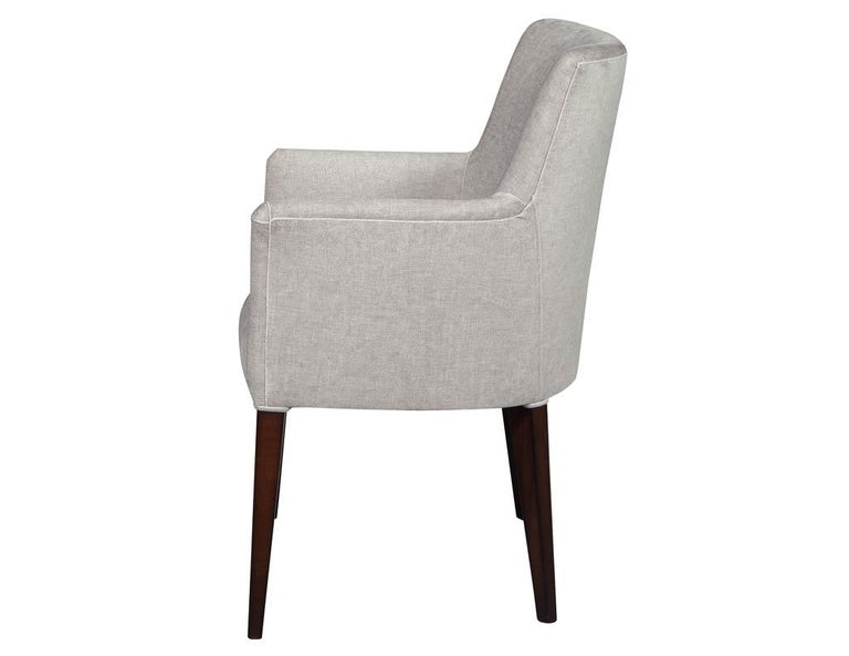 Contemporary Set of 10 Custom Relari Modern Dining Chairs For Sale