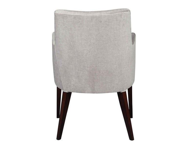Set of 10 Custom Relari Modern Dining Chairs For Sale 1