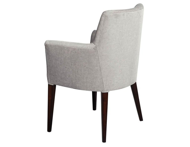 Set of 10 Custom Relari Modern Dining Chairs For Sale 2