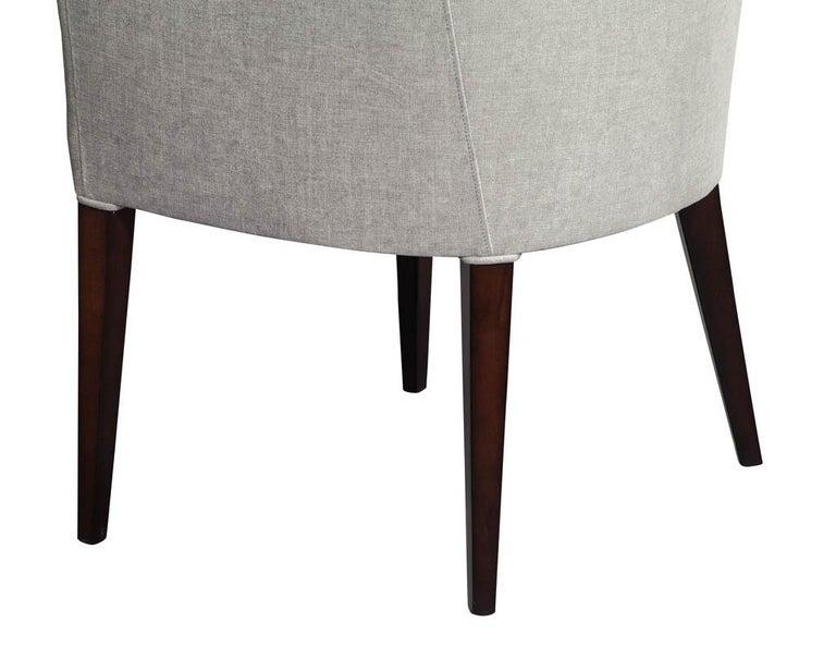 Set of 10 Custom Relari Modern Dining Chairs For Sale 3