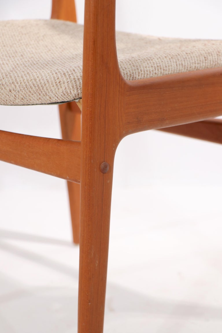 20th Century Set of 10 Danish Dining Chairs Att. to Erik Buch for Odense Maskinsnedkeri For Sale
