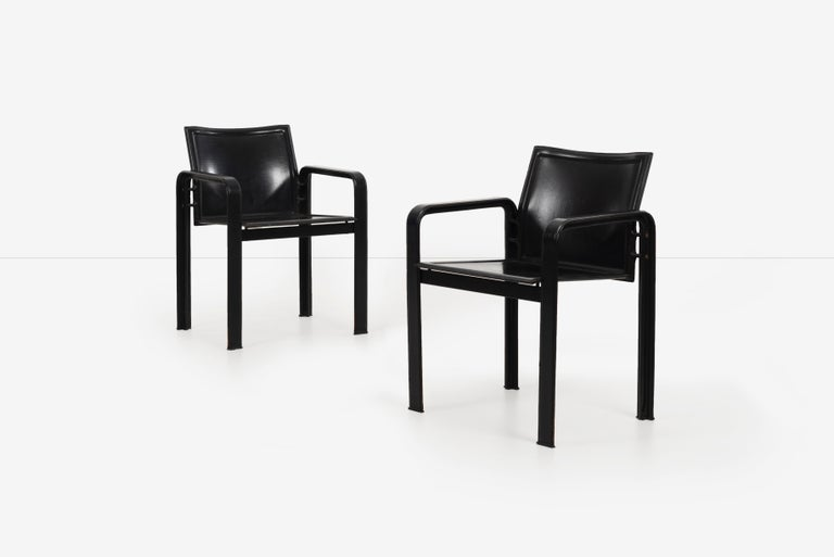 Modern Set of 10 Dining Chairs by Matteograssi, Italy For Sale
