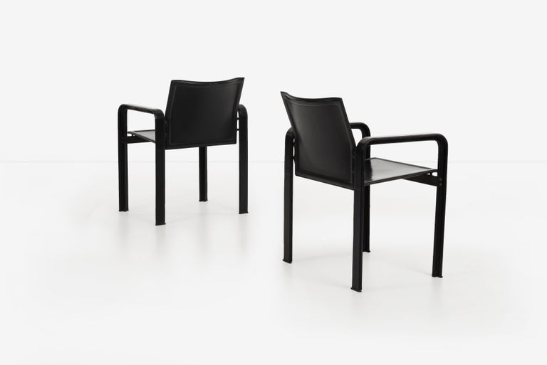 Set of 10 Dining Chairs by Matteograssi, Italy In Good Condition For Sale In Chicago, IL