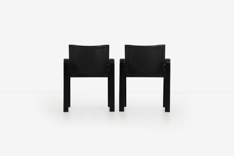 Late 20th Century Set of 10 Dining Chairs by Matteograssi, Italy For Sale