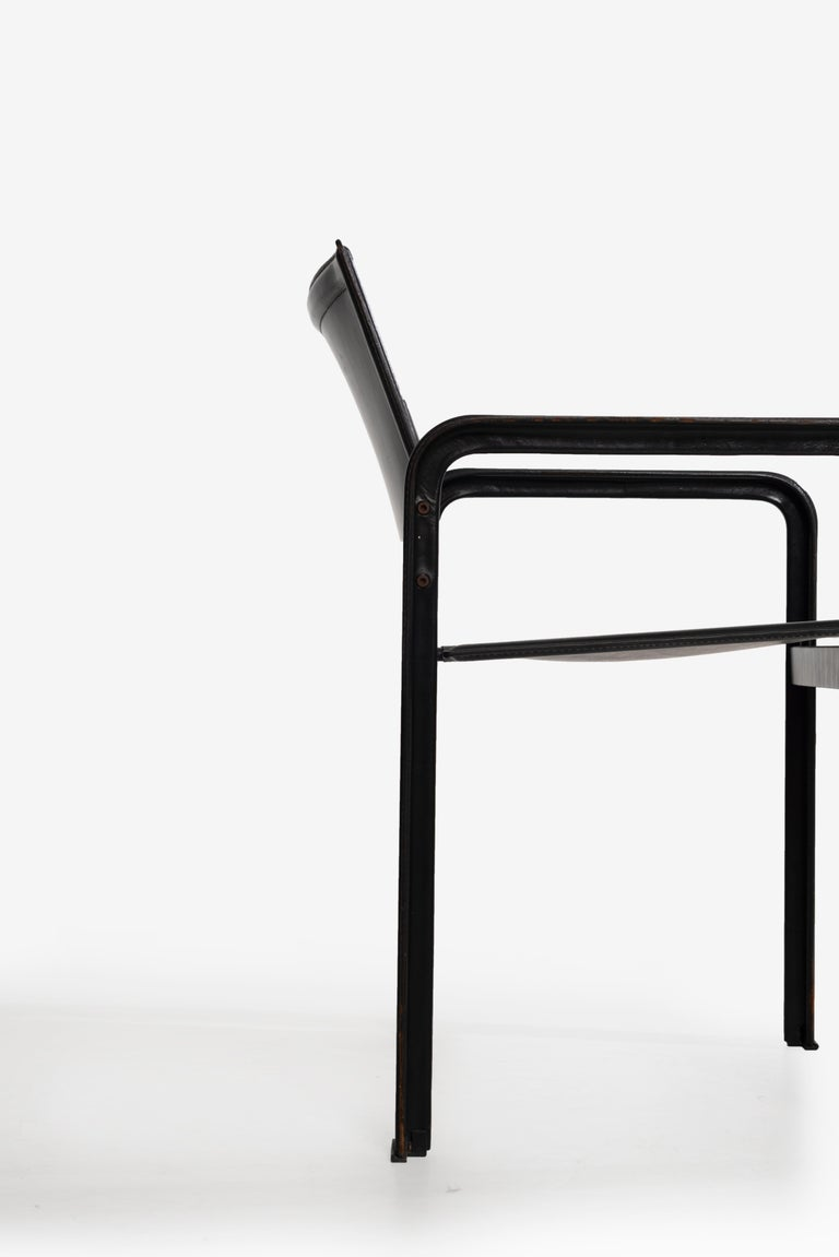 Set of 10 Dining Chairs by Matteograssi, Italy For Sale 2