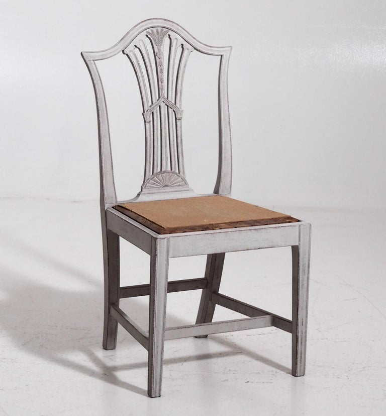 Set of 10 European Chairs, 19th Century For Sale 8