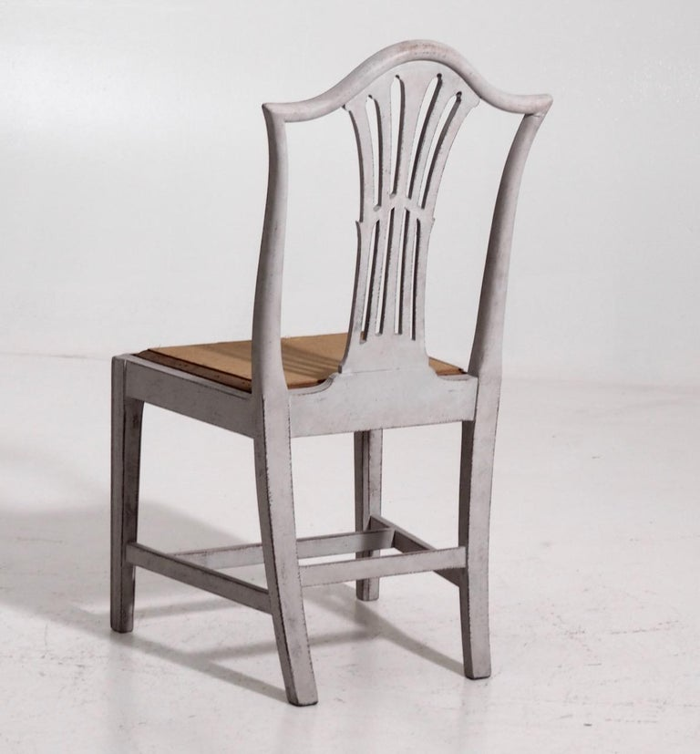 Set of 10 European Chairs, 19th Century For Sale 9