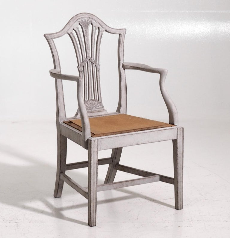 Set of 10 European chairs (including 2 armchairs), richly carved, late 19th century  Measures: Chair H. 98, H-seat. 47, W. 48, D. 43 cm H. 38.5, H-seat. 18.5, W. 18.8, D. 16.9 in  Armchair: H. 100, H-seat. 47, W. 57, D. 51 cm H. 39.3,