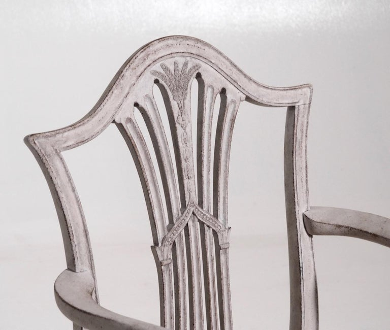 Set of 10 European Chairs, 19th Century In Good Condition For Sale In Aalsgaarde, DK