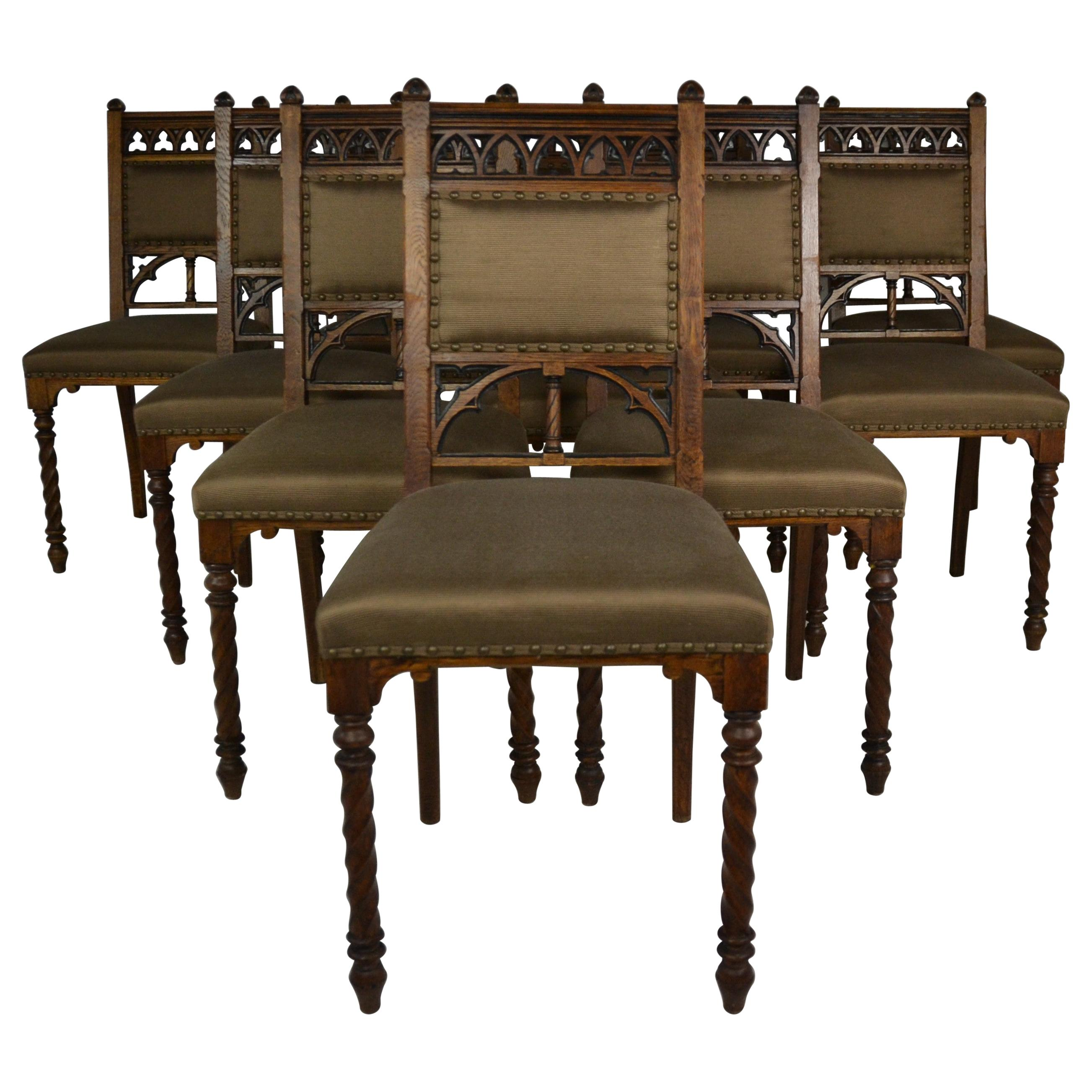Gothic Dining Chairs 27 For On