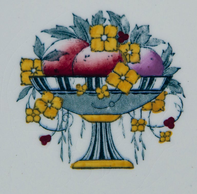 Set of 10 Minton's Stanhope Plates, England, circa 1900 For Sale 1