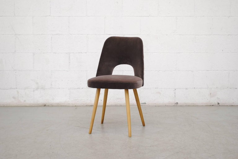 Mid-Century Modern Set of Ten Thonet Barrel Chairs For Sale