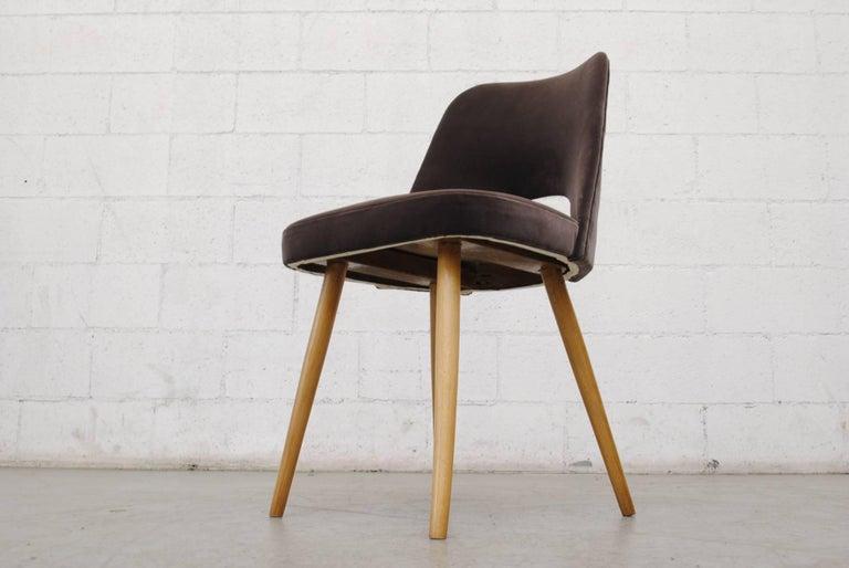 Czech Set of Ten Thonet Barrel Chairs For Sale