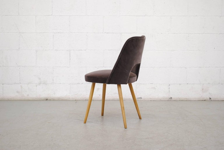Mid-20th Century Set of Ten Thonet Barrel Chairs For Sale