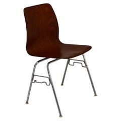 Set of 12 Available Pagholz Rosewood Tandem Stacking Chairs